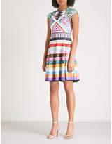 Mary Katrantzou Pinto fit-and-flare stretch-jersey mini dress