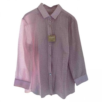 Barba Pink Cotton Top for Women