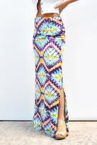 Love The Journey Tie-Dye Maxi Skirt