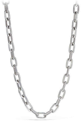 David Yurman Madison Chain 11mm Medium Link Necklace, 20""