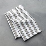 Crate & Barrel Aster Stripe Dish Towel