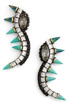 Lionette by Noa Sade Women's 'Orian' Spike Linear Drop Earrings