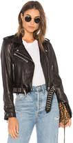 Blank NYC BLANKNYC Black Smoke Leather Jacket in Black. - size L (also in M,S,XS)
