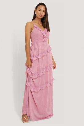 Trendyol Milla Ruffle Evening Dress