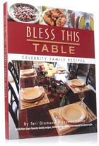 """Cookbooks """"Bless This Table"""" Cookbook by Teri Diamond and Jaymes Foster"""