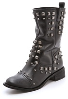 Schutz Studded Low Heel Boots