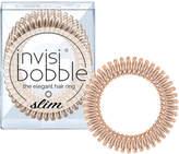 Invisibobble invisibobble Slim Elegant Hair Ties - Bronze (Pack of 3)