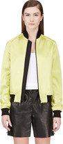 Jonathan Saunders Acid Green Bomber Jacket