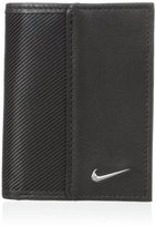 Nike Men's Leather Tech Twill Credit Card Fold