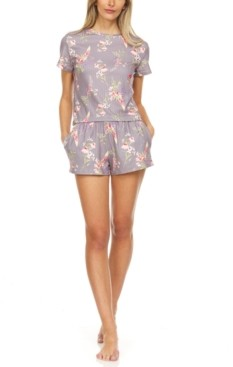 Flora Nikrooz Contemporary Flora by Flora Nikrooz Bella Shorts Pajama Set