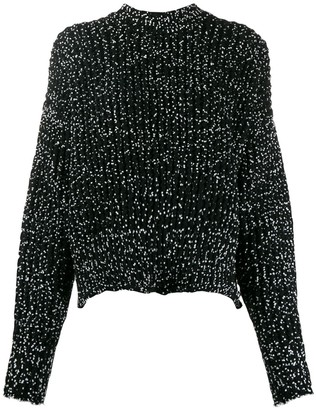 Jil Sander High-Low Hem Jumper