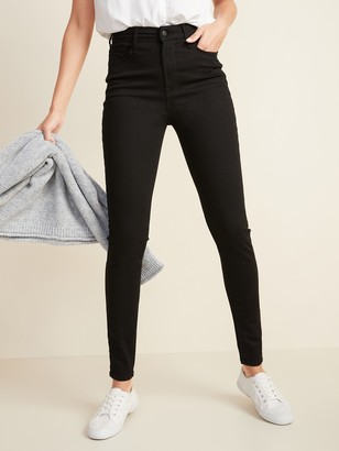 Old Navy High-Waisted Built-In Sculpt Never-Fade Rockstar Jeans For Women