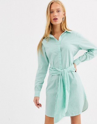 Selected belted dress