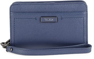 Tumi Leather Zip-Around Wallet