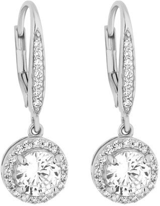 Simply Silver Sterling Silver 925 Clara Earring