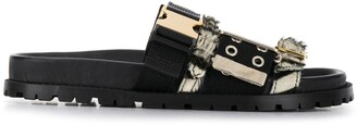 Sacai Multi Straps Flat Sandals
