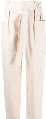 RED Valentino Tapered Leg Cargo Trousers