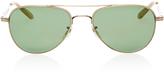 Garrett Leight M'O Exclusive Linnie M51 Aviator Sunglasses