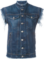 Vivienne Westwood sleeveless denim jacket - women - Cotton - S