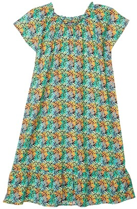 Vilebrequin Kids Jungle Cotton Voile Gizelle Dress (Toddler/Little Kids/Big Kids)