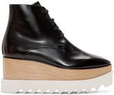 Stella McCartney Black Platform Elyse Boots