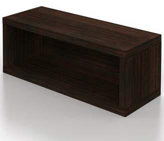 Stackable Media Shelves Ebern Designs Color: Espresso