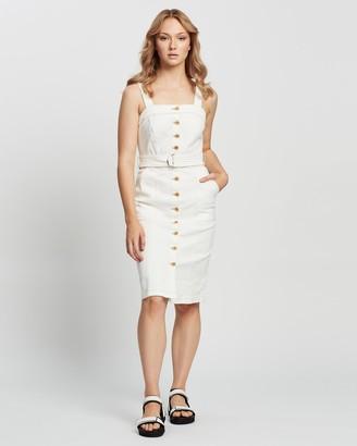 Outland Denim Charlotte Belted Dress