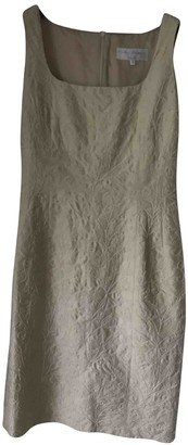 Non Signé / Unsigned Non Signe / Unsigned Gold Cotton Dress for Women
