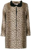 Antonio Marras leopard printed coat
