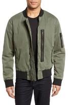 Hudson Men's Knox Twill Bomber Jacket