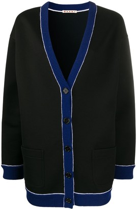 Marni oversized V-neck cardigan