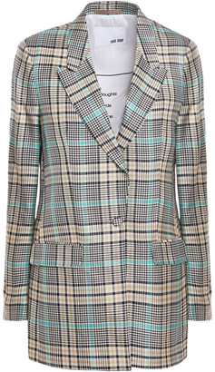 Each X Other Checked Jacquard Blazer