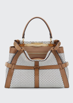 Fendi Monster Peekaboo Regular Satchel Bag