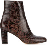 Maryam Nassir Zadeh alligator-embossed Agnes boots