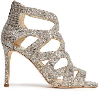 MICHAEL Michael Kors Anna Lee Cutout Sequined Sandals