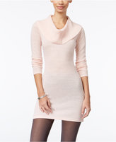 Energie Juniors' Metallic Cowl-Neck Sweater Dress