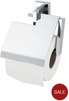 Aqualux Haceka Edge Toilet Roll Holder With Lid