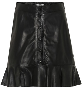 Ganni Leather skirt