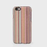 Paul Smith Men's Signature Stripe Leather iPhone 6 Case
