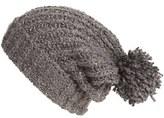 Free People Women's Boucle Knit Beanie - Grey