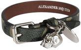 Alexander McQueen Single Wrap Bracelet
