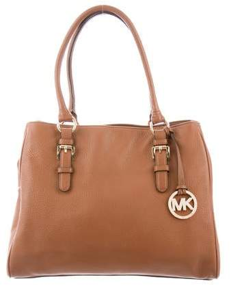 40b46d2da656 Pebbled Leather Handbag - ShopStyle