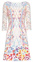 Peter Pilotto Printed crêpe minidress