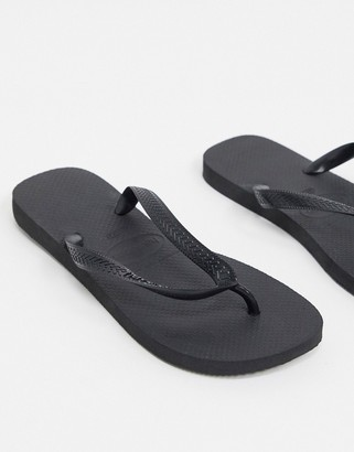 Havaianas Havianas classic flip flops in black