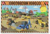 PAINLESS LEARNING PLACEMATS-Construction Vehicles-Placemat