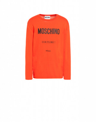 Moschino Cashmere And Cotton Pullover Man Orange Size 44 It - (34 Us)