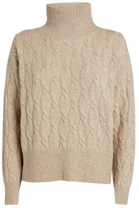 Max Mara Cable-Knit Ramo Sweater