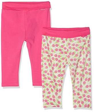 Playshoes Baby Leggings Rosen Im 2er Pack,(Size: 50/56) (Pack of 2)