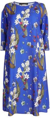 Marina Rinaldi Floral Print Dress