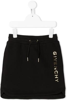 Givenchy Kids TEEN drawstring mini skirt